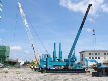 Rotary Hydraulic Piling Machine , Precast Concrete Pile Pressing Machines